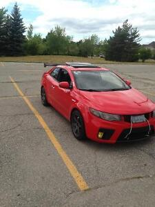2010 Kia Forte SX Coupe (2 door) for trade or sale