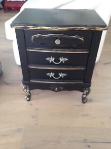 Faux French Provincial Side Table
