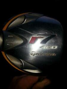 Taylor made R7 driver with head cover for sale
