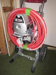 Used Only Once: Titan XT330 Paint Sprayer
