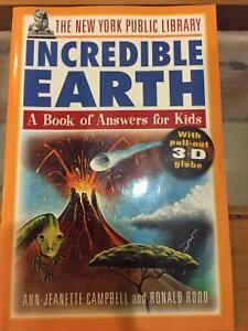 Incredible Earth book for kids
