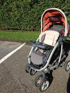 Graco poussette bébé 2009 utilisé 2 ans sans coquille
