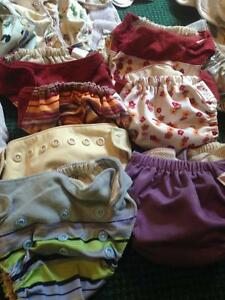 Cloth diapers Motherease and GroBaby