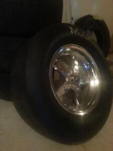 mustang wheels and Mickey Thompson et street tires