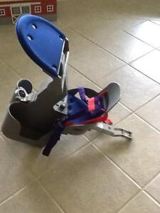Childs bike carrier seat