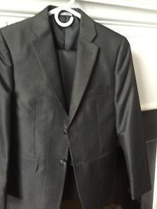 Suit, dress shirts, dress shoes