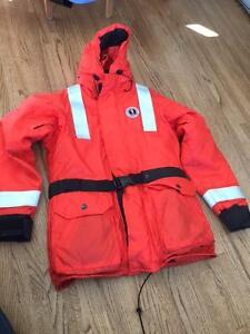 Mustang Survival ThermoSystem Plus Coat (size small)