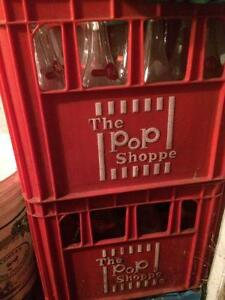 Pop shoppe original bottles in case