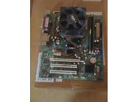 HP DX2250 motherboard + Dual core Athlon 4600 + 2 x 1 GB Ram