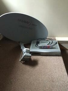 HD dish and Recever