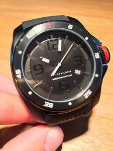 Tommy Hilfiger Watch - Black on Black  **MINT CONDITION**
