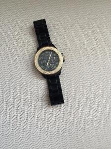 Diamond faced watch