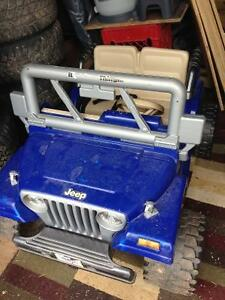 12v power wheel Jeep Wrangler