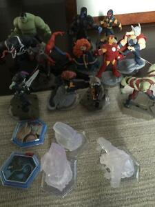 Disney Infinity 2.0 characters (18 of them) -WESTBORO