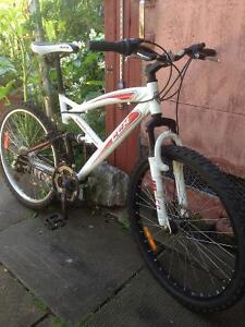 Alphine CCM mountain bike, Front and rear Suspenion!
