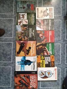 Vieux livres de chasse / old hunting books
