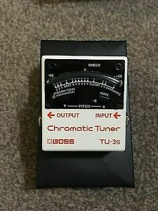 Boss TU3s Tuner to swap for a TC Electronics Ditto or EHX 360