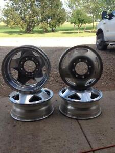 1999 - 2003 Ford F350 Superduty Aluminum Rims - Dually