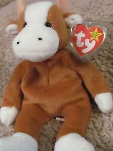 Bessie the Cow Ty Beanie Baby stuffed animal Kitchener / Waterloo Kitchener Area image 1