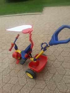 $30 Little Tikes push tricycle