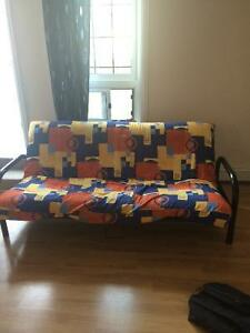 Futon in good condition - Free - must pick up by tomorrow