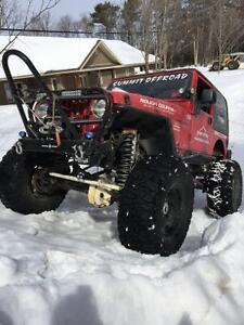 2003 lifted jeep tj $15,000 o.b.o