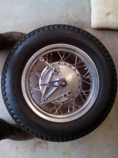 Cb550 Rear wheel