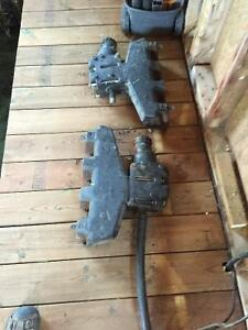 Pair Marine manifolds $300.00 or best offer