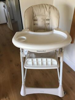 Steelcraft Messina DLX high chair - Perfect condition RRP $169