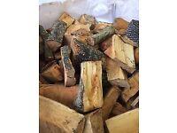 logs .logs cut & seasoned in 1 tonne bags or loose