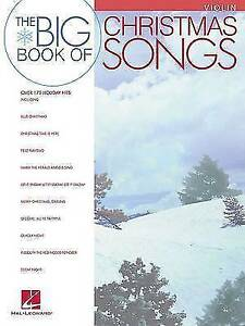 Big Book of Christmas Songs for Violin by Hal Leonard Publishing Corporation...
