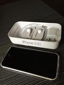 iPhone 5C 16G White Excellent Condition