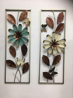 Metal wall art- 2 designs