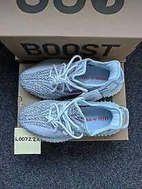 Genuine Size 7.5 V2 Blue Tint Yeazys for sale
