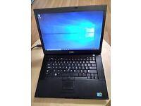 Dell Latitude E6500 (Windows 10) – 15'6 inch Screen - Intel Dual Core - 4GB RAM - 160 GB HDD