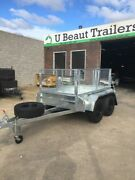 8x5 Tandem Trailer Off Road Heavy Duty, Cage, Australian made Seaford Frankston Area Preview