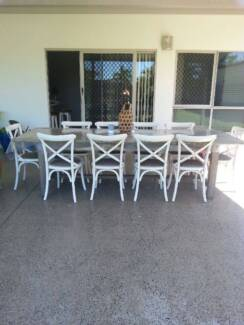 Huge Table And 10 Chairs