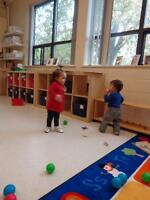 Available Spots in Infant Program at Montessori Academy