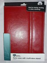 iPad Air Folio Case Multi-View Stand. Red Leather-look. iCoustic Fairfield Fairfield Area Preview