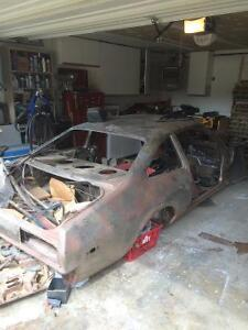 Shell of 79 Plymouth
