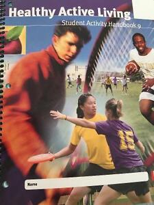 Healthy Active Living Student Activity Handbook 9 New