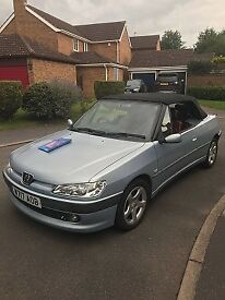 Peugeot 306 convertible mint condition 2000 W Reg service history and 6 months MOT