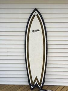 6'5 Fish Hand Shaped Millennial Surfboard for Sale!