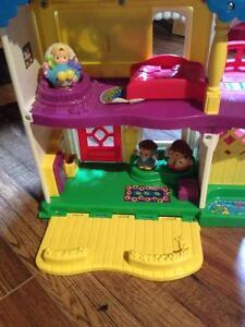 Little people fisher price house playset London Ontario image 1