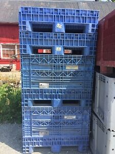 Collapsible Plastic Shipping Container