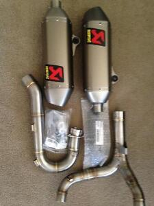 New Akrapovic 2015 - 2016 CRF450R Titanium Full System