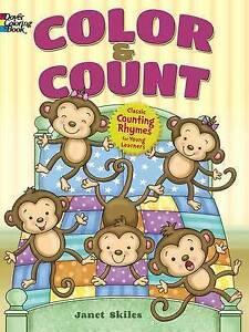 Color and Count by Skiles, Janet -Paperback