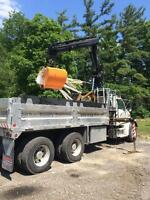 Self Loading Dump Truck Hire & Clean Fill Disposal