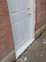 window and door cutting & installation ,concrete floor cutting