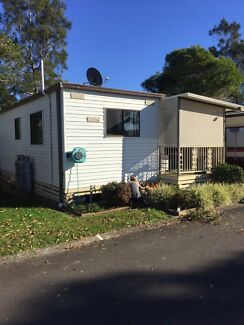 GRANNY FLAT RELOCATED HOUSE ON SKIDS CARAVAN A/C SITE OFFICE